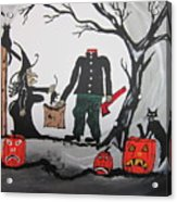Trick Or Treat. Acrylic Print