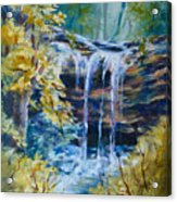 Trickles From Heaven II Acrylic Print