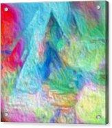 Tricolour Acrylic Print