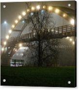 Tridge Fog Acrylic Print