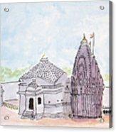 Trimbakeshwar Jyotirlinga Acrylic Print