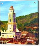 Trinidad Church Cuba Acrylic Print