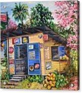 Trinidad Country Parlour Acrylic Print