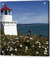 Trinidad Lighthouse California Acrylic Print