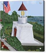 Trinidad Memorial Lighthouse Acrylic Print