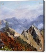 Trinity Alps Acrylic Print