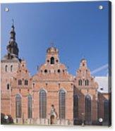 Trinity Church In Kristianstad Acrylic Print