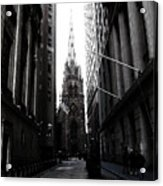 Trinity Church New York City Acrylic Print