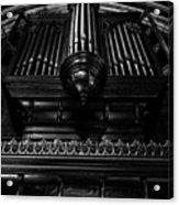Trinity Church Pipe Organ Acrylic Print