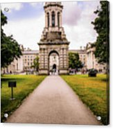 Trinity College Dublin  Acrylic Print