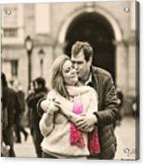 Trinity College Kiss Acrylic Print