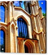 Trinity Episcopal Cathedral Columbia Sc Acrylic Print