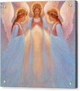 Trinity Of Angels Acrylic Print