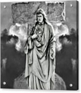 Trinity Of Stone Acrylic Print