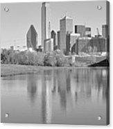 Trinity River Panorama Acrylic Print