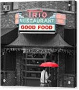 Trio Restaurant Acrylic Print