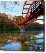 Triple Bridge Acrylic Print