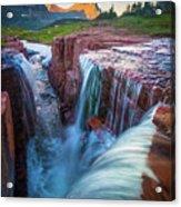Triple Falls Cascades Acrylic Print