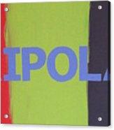 Tripolar Acrylic Print
