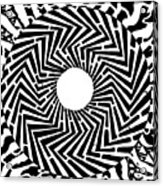 Trippy Optical Illusion Swirly Maze  Acrylic Print