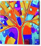 Trippy Tree Acrylic Print