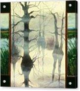 Triptych Acrylic Print