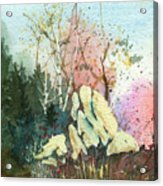 Triptych Panel 1 Acrylic Print