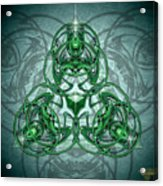Triskellion Acrylic Print