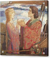 Tristian And Isolde Acrylic Print
