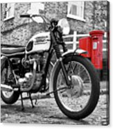 Triumph Bonneville 1963 Acrylic Print