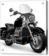 Triumph Rocket IIi Motorcycle Acrylic Print
