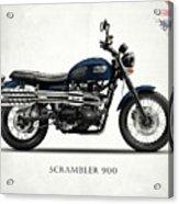 Triumph Scrambler 900 Acrylic Print