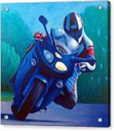 Triumph Sprint - Franklin Canyon  Acrylic Print