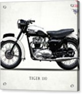 Triumph Tiger 110 1959 Acrylic Print