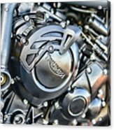 Triumph Tiger 800 Xc Engine Acrylic Print
