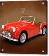 Triumph Tr3 1957 Acrylic Print