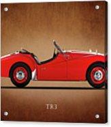 Triumph Tr3a 1959 Acrylic Print