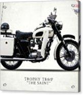 Triumph Tr6p - The Saint Acrylic Print