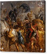 Triumphal Entry Of Henry Iv In Paris Acrylic Print