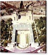Trocadero Palais De Chaillot 1955 Acrylic Print