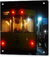 Trolley Car Acrylic Print