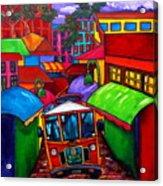 Trolley Acrylic Print