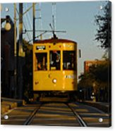 Trolley Ride Acrylic Print