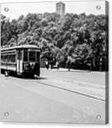 Trolley With Cloisters Acrylic Print