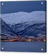 Tromso Seafront Acrylic Print