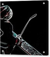 Tron Hockey - 1 Acrylic Print