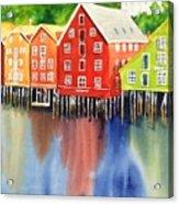 Trondheim Acrylic Print