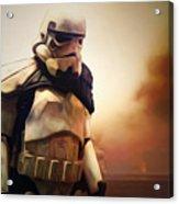 Trooper Landscape Acrylic Print