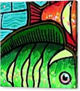 Tropic Swim Acrylic Print