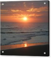 Tropical Bali Sunset Acrylic Print